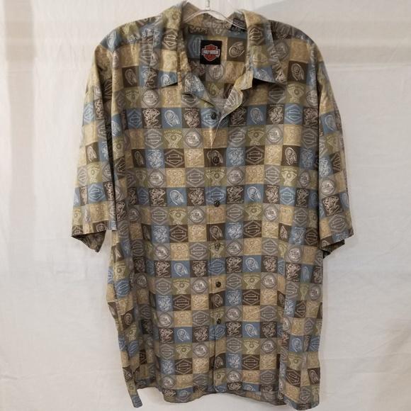 Harley Davidson Tori Richard Short Sleeve Shirt